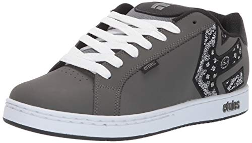 Fader Skateboard Metal Etnies Homme Dark white Chaussures black Mulisha De Grey 4EwqOx