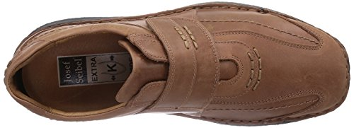 Josef Seibel Alec - zapatilla deportiva de cuero hombre marrón - Braun (845 300 brandy)