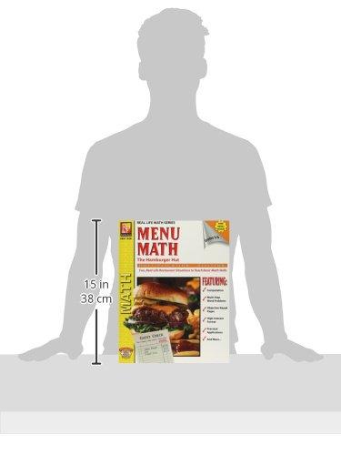 Amazon.com: Menu Math: The Hamburger Hut, Multiplication ...