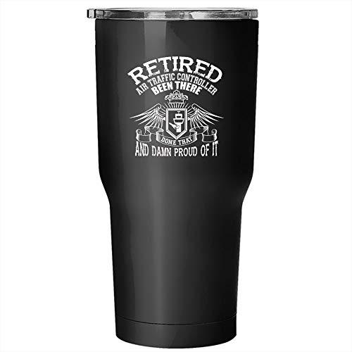 Controller Tumbler 30 oz Stainless Steel, Cool Gift For My Grandpas Travel Mug (Tumbler - Black) ()