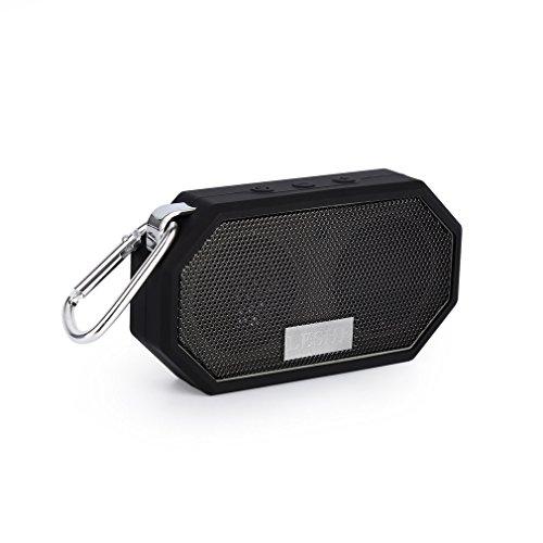 Bluetooth Lautsprecher LESHP kabellos tragbar Stereo Musikbox Mini Portable Bluetooth Lautsprecher (starker Bass, High Definition Audio, IP66 Spritzwassergeschützt, USB-Anschluss für Handyaufladungen im Freien)