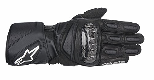 - Alpinestars SP-2 Men's Leather Road Race Motorcycle Gloves - Black / Medium