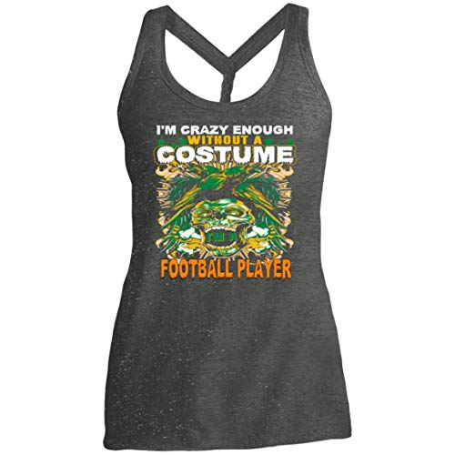 Women's Football Player Costume Halloween Funny Gifts Shirt