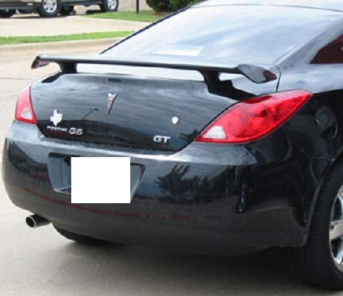 707 Motoring Fits Pontiac G6 Coupe 2006-2009 Large Bolt On 2-Post Rear Spoiler Unpainted