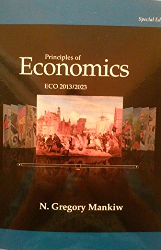 Price comparison product image Principles of Economics ECO 2013 / 2023 - Seventh Edition (7th) by N. Gregory Mankiw {USA Paperback Special Economy Edition}(Book only)
