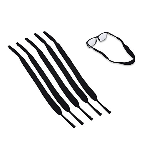 Glasses Strap 5pcs Sports Glasses Cord Elastic Neck Strap Retainer Cord Chain Holder Lanyard Eyeglasses Band, Cord, Neck - Eyeglasses For Fit Proper
