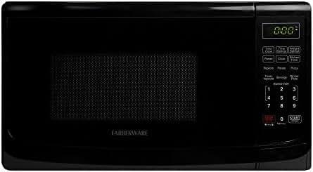 Farberware Classic FMO07ABTBKA 0.7 Cubic Foot 700-Watt Microwave Oven, Black