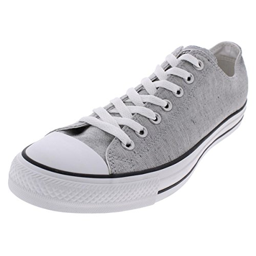 Converse Mens Chuck Taylor Sneaker Basse Sneakers Fashion Bianche / Grigie