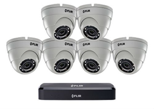 - FLIR DN2181E63 Series Eyeball Dome Cameras Digital Surveillance Camera, Black
