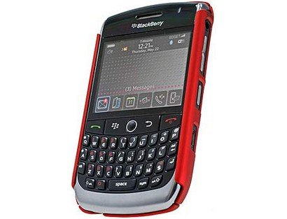 Cellet Red Rubberized Proguard Cases For Blackberry Curve 8900 ()