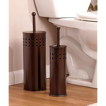 Amazon Com Oil Rubbed Bronze Toilet Brush And Toilet