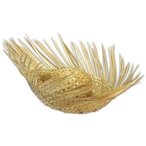Beachcomber Straw Hat, Pkg/12 ()