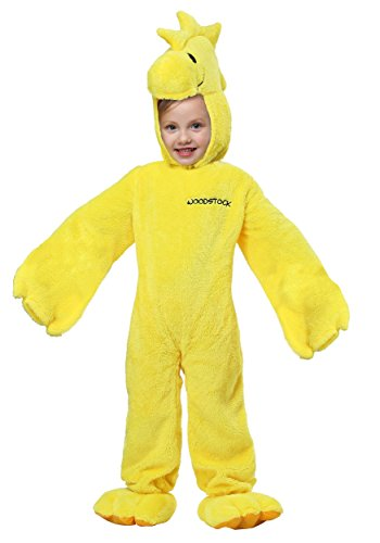 Peanuts Woodstock Super Deluxe Toddler Costume 3T/4T - Woodstock Peanuts Costume