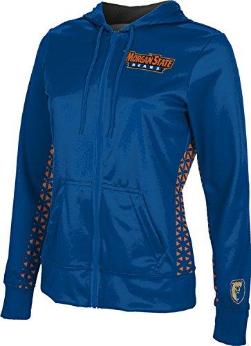 ProSphere Morgan State University Women's Zipper Hoodie, School Spirit Sweatshirt (Geo) FEA3