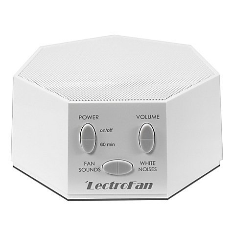 LectroFan Sound Therapy Machine in White