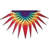Premier Kites 53217 Progressive Hanging Banner, Sun Burst, Red For Sale