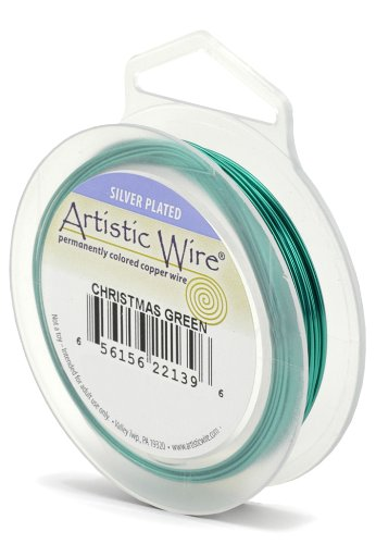 uge Wire, Christmas Green, 30-Yard ()
