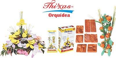 Stampi per fiori di termoformado thikas orquideas Set di 4 CLAROS