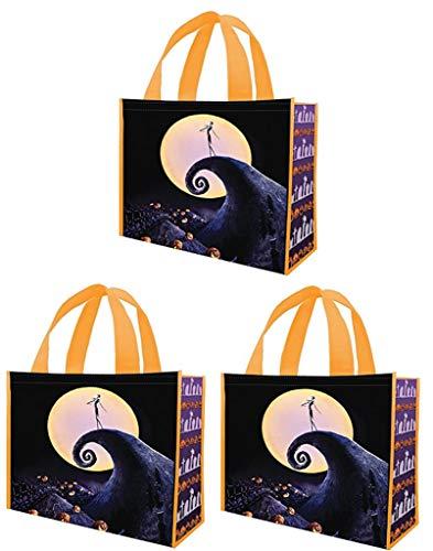 (Vandor Disney Nightmare Before Christmas - Shopper Tote Large Bag - Bundle of)