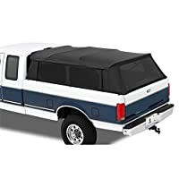 Bestop-76309-35-Black-Diamond-Supertop-for-Truck-Bed-Cover-for-2004-2017-Ford-F-150-Super-Crew-2004-2017-Nissan-Titan-Crew-Cab-wo-utility-track-55-bed