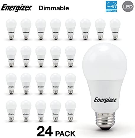 Energizer A19 Equivalent Dimmable 24 Pack