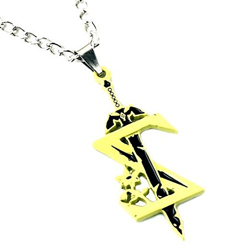 (Dan's Collectibles and More The Legend of Zelda Pendant Necklace Yellow Breath of The Wild Skyward Sword Sheikah Eye Majoras Mask w/ Gift Box)