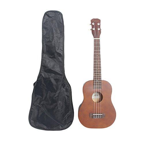 Lovinland 26'' Wooden Ukulele Hawaiian Ukulele Beginner Guitar Toys Rosewood Fingerboard with Bag by Lovinland (Image #2)