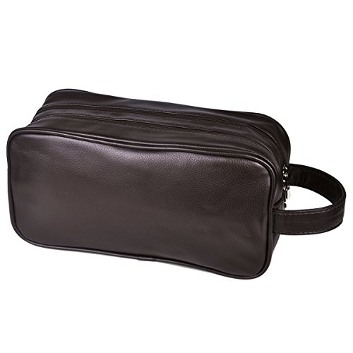 HappyDavid Leather Travel Toiletry Ladies