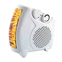 DGSD Third Gear Silent Heater Household Saving Electric Heating Cold and Warm Dual-Use Mini-Heater
