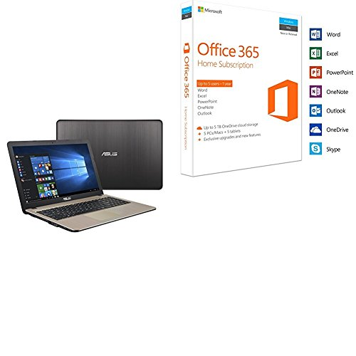 Asus VivoBook 15 X540UA 15.6-Inch LED Notebook (Chocolate Black) - (Intel...