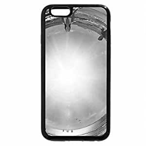 iPhone 6S Case, iPhone 6 Case (Black & White) - vida de playa