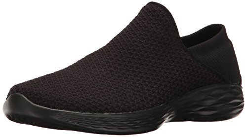 Skechers Women's You Slip-On Shoe,Black,8 M US
