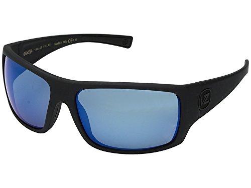 x Pol Sunglasses, Blck Satin/Wild Blue Chr Glass OS (Satin Chr)