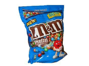 M&M Mars Mam Pretzel, 40 Ounce