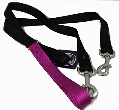 2 Hounds Freedom No Pull 1 Inch Training Leash ONLY Works with No Pull Harnesses Raspberry