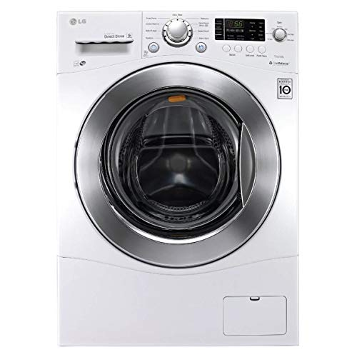 LG WM1388HW 2.3 Cu. Ft. White Stackable Front Load Washer – Energy Star (Certified Refurbished)