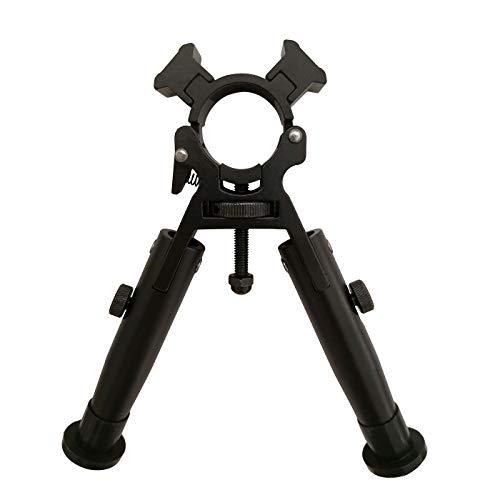 AlphaZ Rifle Bipod, Tactical Bipods for Rifles Foldable Legs Clamp on Bipod Adjustable Air Rifle Bipod for Hunting Rifle