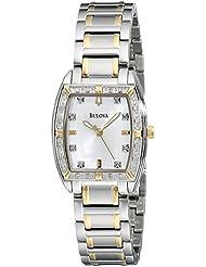 Bulova Womens 98R159 Two-Tone Bracelet Watch