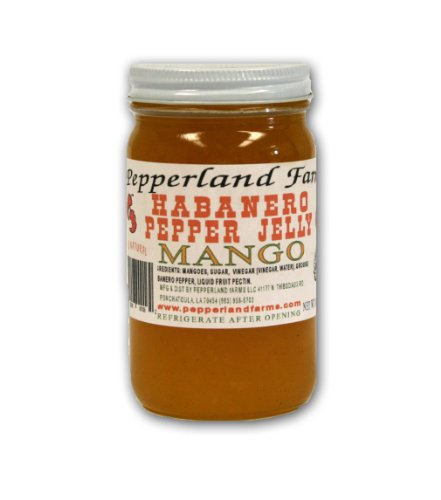 Pepperland Farms Mango Habanero Pepper Jelly - Jelly Mango Pepper