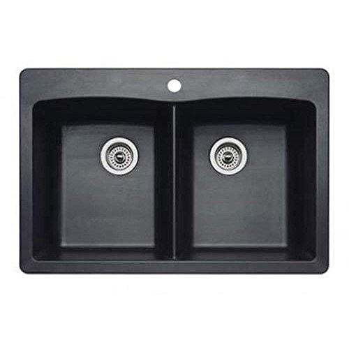 Anthracite Double Bowl Kitchen Sink - 2