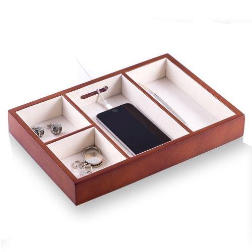 Bey Berk Open Wood Dresser Valet