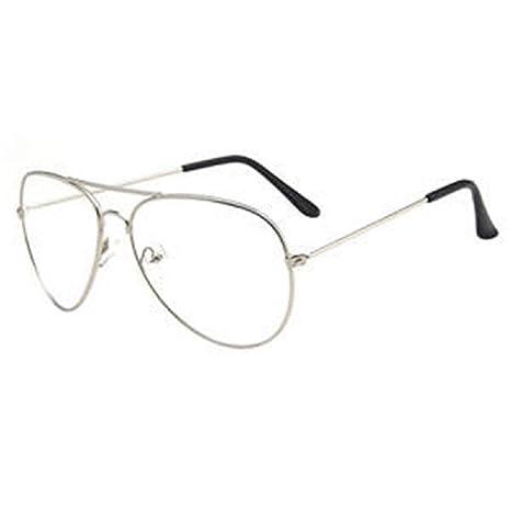 Marco de gafas con estilo Gafas de sol estilo aviador Unisex ...