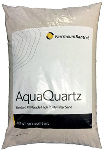 Fairmount Minerals Pool Filter Sand 20-Grade Silica Sand 50 Pounds