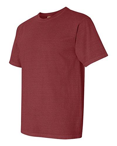 Comfort Colors 1717 Pigment-Dyed Short Sleeve Shirt (Brick,