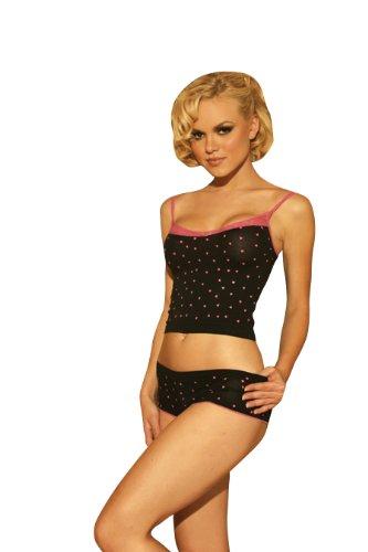 8b43911157 Amazon.com  Elegant Moments Women s Two Piece Cami Set