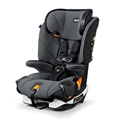The Chicco MyFit Harness+Booster is a harness/belt-positioning car seat is designed to grow with children from toddler through big kid with easy transition from five-point harness to vehicle seat belt. Nine headrest positions accommodate grow...