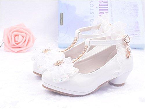 48cdf58b YOGLY Zapatos de Princesa de Bowknot Zapatos de Tacón Alto de Moda para  Niñas Zapatilla de Baile: Amazon.es: Zapatos y complementos