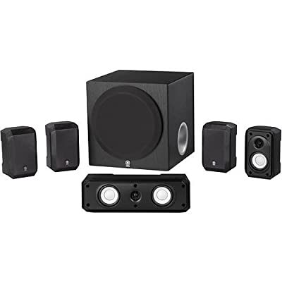 Yamaha 5.1 Channel Surround Sound Multimedia Home Theater Speaker System