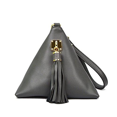 Bolsos De Hombro Del Bolso De Hombro Del Embrague Del Diseñador De Moda Pequeño Para Las Mujeres Grey