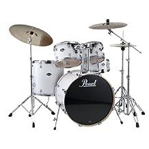 Pearl Export EXX725SC33 5 Piece Drum Kit, Pure White
